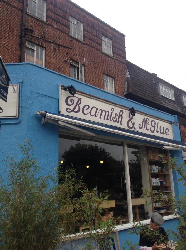 Beamish & McGlue shop front West Norwood