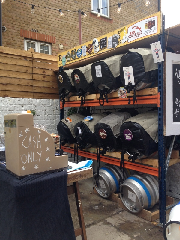 Their ale festival in July 2014