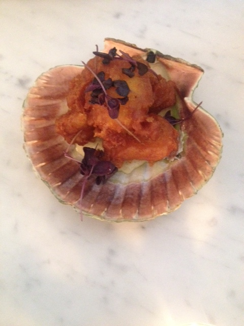 Scallops to start at Pedler