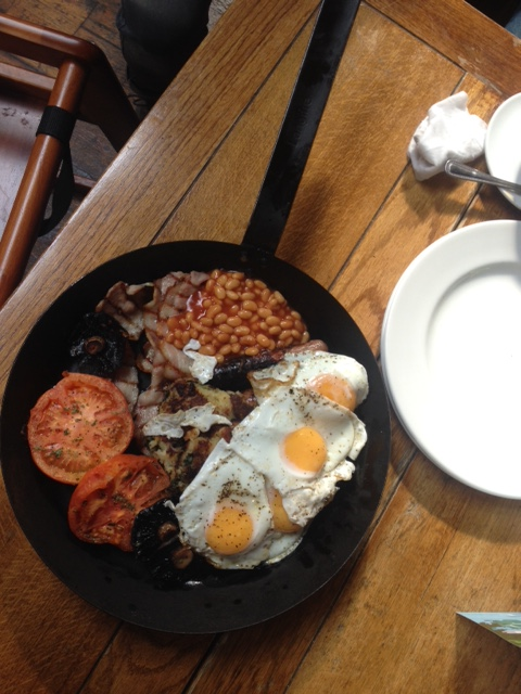 The 'Breakfast of Champions' for two at The Commerical pub Herne Hill brunch