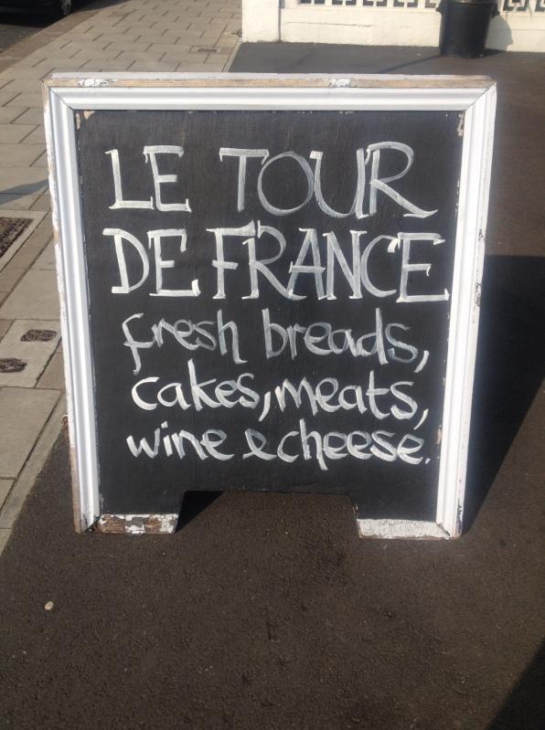Le Tour de France shop sign, Streatham