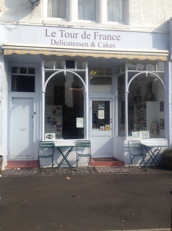 Le Tour de France shop front, Streatham