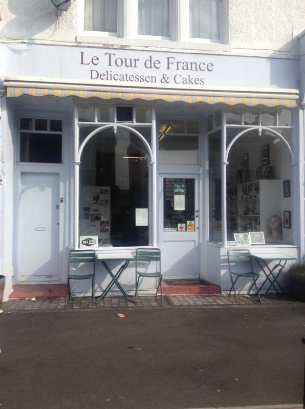 Le Tour de France shop front, Streatham