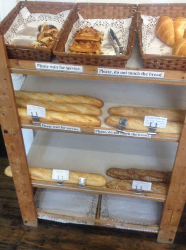 bread and pastries at Le Tour de France Streatham